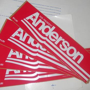 Campaign stickers - Politics