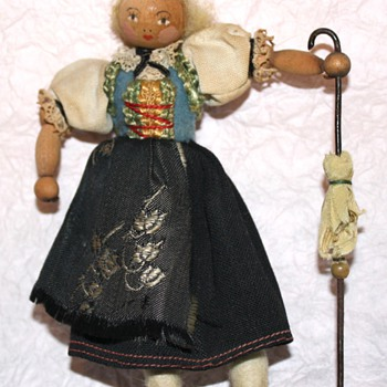 Wooden Doll - Dolls