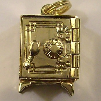 Old 14k Gold Safe with Working Dial