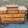 Vintage locking chest of drawers