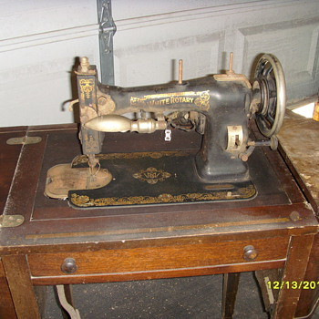 1929 White Rotary FR 3202338  - Sewing