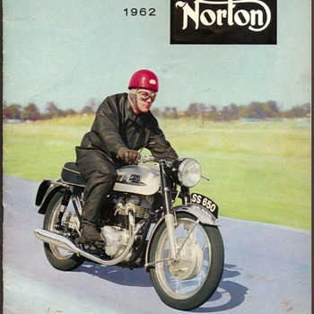 "1962 - ""Norton"" Motorcycles Sales Brochure - Paper"