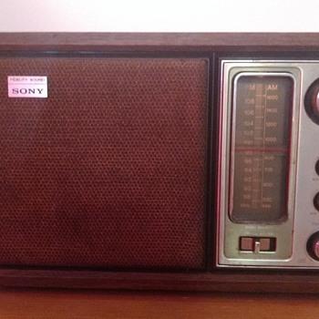 Sony AM/FM. 1978?  - Radios