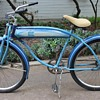 "1950's Sterling Men's Tank Bike 26"" Cruiser"