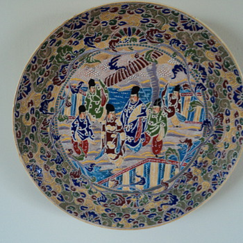 Plate from China