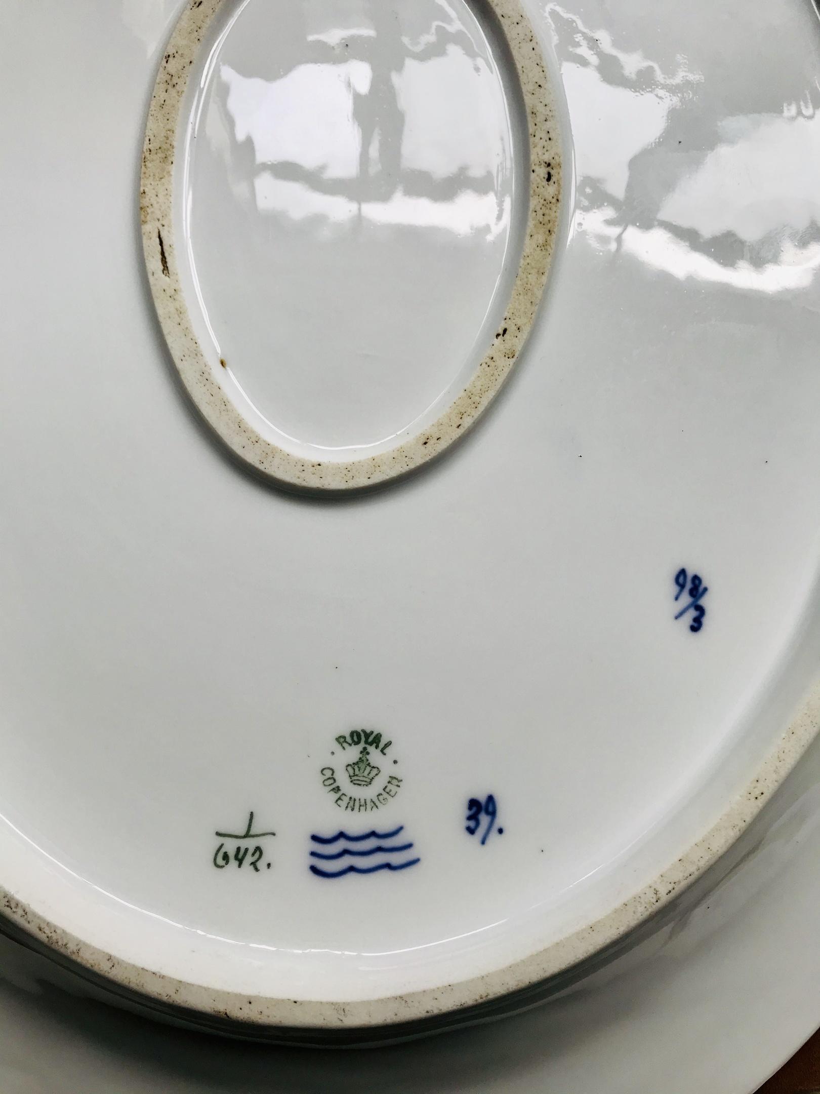 16 Oval Royal Copenhagen Platter Need Help Dating