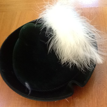 Tyrolean (?) Hat from 1952...almost perfect shape!