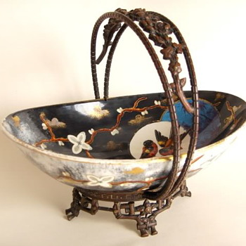 What does late 19th Asian Cloisonne Metalworks and European Ceramic Pieces Share? German Glass Chemistry - Asian