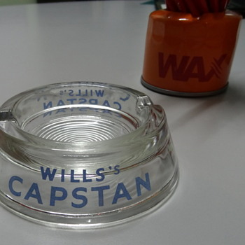 A lovely NoS Capstan ashtray - Tobacciana