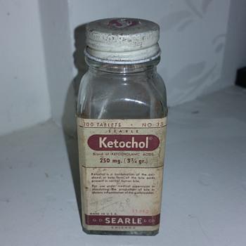Ketochol medicine  - Bottles