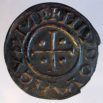 Louis I (le Pieux) Temple Denier - World Coins