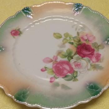Rose Design Salad Plate - China and Dinnerware