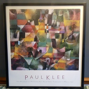Paul Klee print. - Fine Art