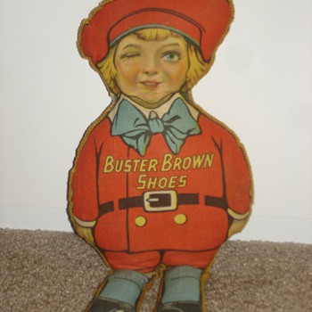 Buster Brown Shoes Advertising rag doll