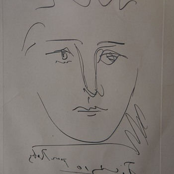 Picasso Etching - Posters and Prints
