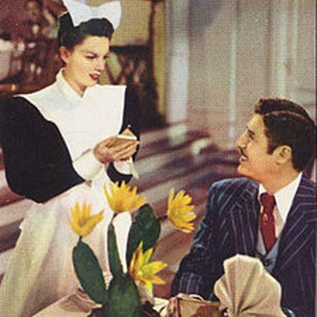 """The Harvey Girls"" 1946 Movie About The Traveling Waitresses Of FredHarvey and His Traveling Waitresses."