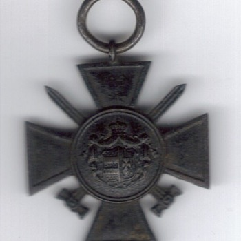 """So called """"WW1 French Medal"""" for $3.00 is really rare Oldenburg decoration"""