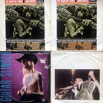 Blues Vinyl (1960's/70's)-2. - Records
