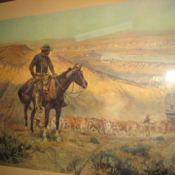Old western pictures - Posters and Prints