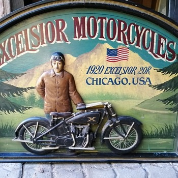 Motorcycle Sign - Motorcycles