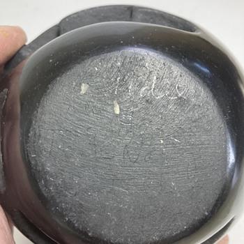 Native American Santa Clara Pueblo Pottery signature - Native American