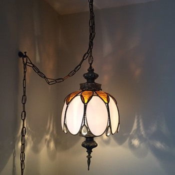 Love this swag/chain lamp - Lamps