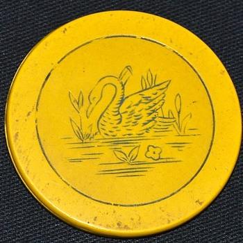 Swan Poker Chip