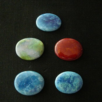 """MINTON HOLLINS """"ASTRA"""" CABOCHONS #3"""
