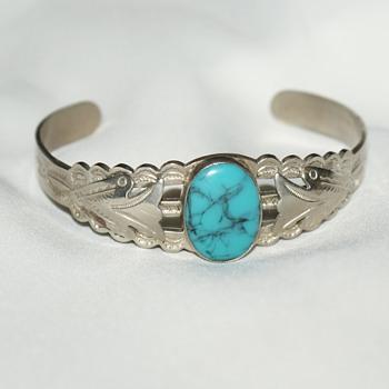 Fred Harvey Style Cuff  - Fine Jewelry