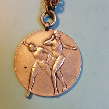 Track and Field?? Medal from WWII era Japan, I think
