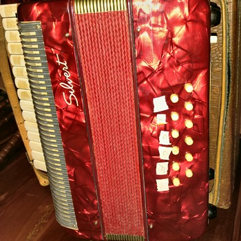 A Silvert accordian. I cannot find that name anywhere.