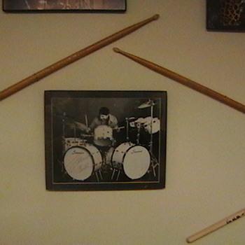 Louie Bellson Used Drumsticks & Autographed Photo - Music Memorabilia