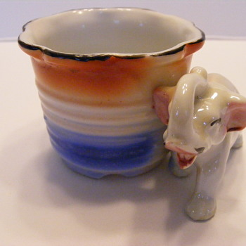 Goofy little elephant cup. - Kitchen