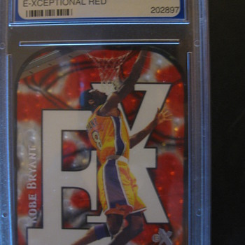 KOBE BRYANT SKYBOX 1999-00 E-XCEPTIONAL RED