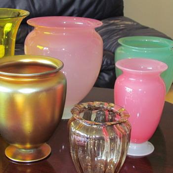 Steuben Glass vases - Art Glass