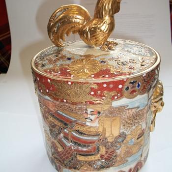Satsuma Biscuit Barrel - Asian