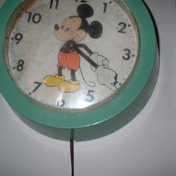 Micky Mouse Clock - Clocks