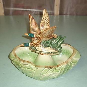 Flying Ducks Planter - Pottery