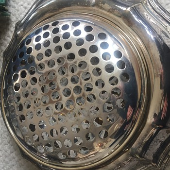 Reed and Barton dish with lid.  What is this dish used for? - Silver
