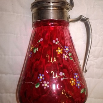 Victorian Syrup Jugs