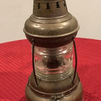 Perko Nautical Oil Lamp  - Lamps