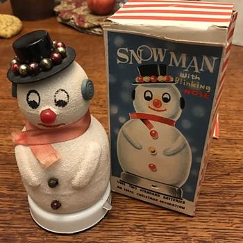 1960's Snowman - Toys
