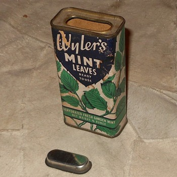 Wyler's Mint Leaves Tin