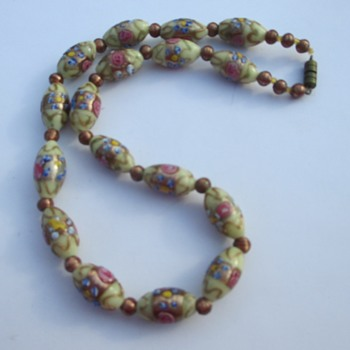 Vintage Murano necklace - Costume Jewelry