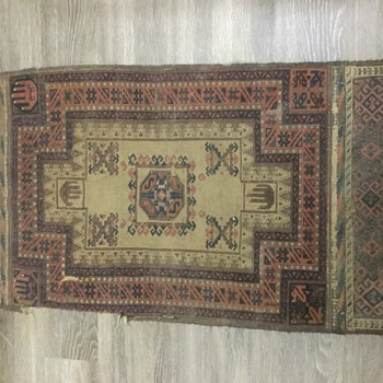 old Rug possibly a prayer rug? - Rugs and Textiles