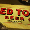 Red Top Beer Sign