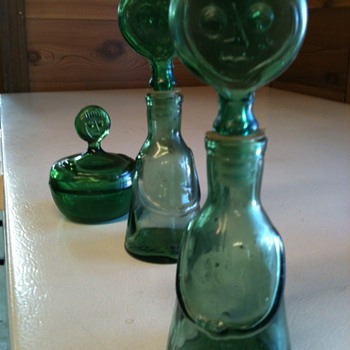 Face bottles and jar - Bottles