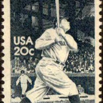 1983 - 'Babe' Ruth Postage Stamp (US) - Stamps