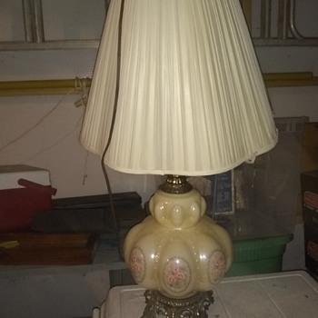 Vtg bubble table lamp - Lamps