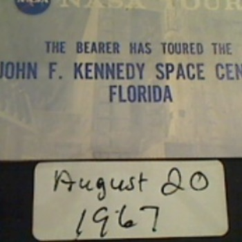 Photos from 1967. Visitors tour of Kennedy Space center.   - Photographs